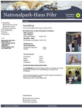 Nationalpark Haus Föhr