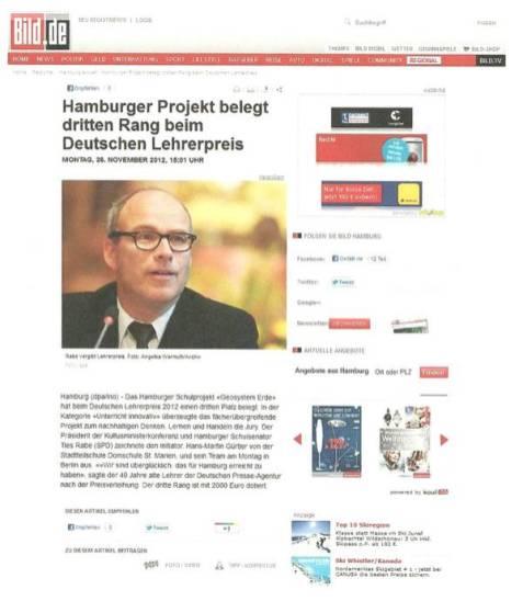 Bildzeitung 26.11.2012