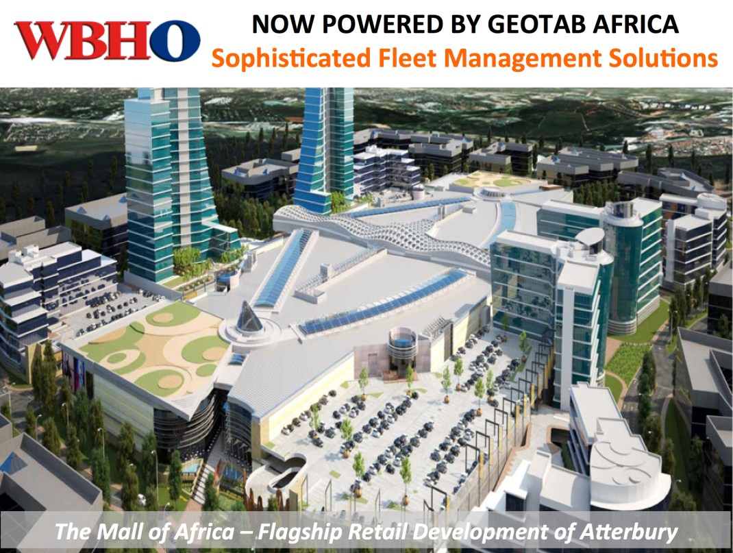 WBHO - Now Powered by GEOTAB Africa, Sophisticated Fleet Management Solutions