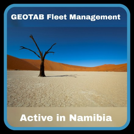 Geotab Africa Fleet Management System - Active in Namibia