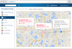 MyGeotab Detailed and Accurate Trip Reporting
