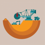 Source & Destination tool for open-cast mining operations