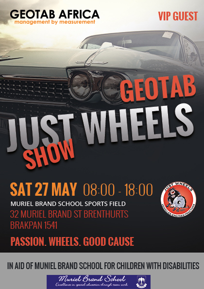 Geotab Just Wheels Show 2017 VIP