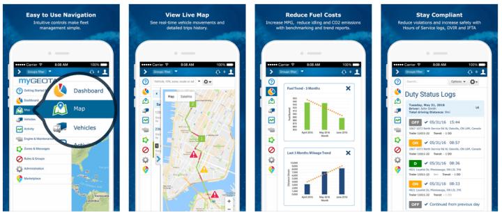 MyGeotab Mobile App