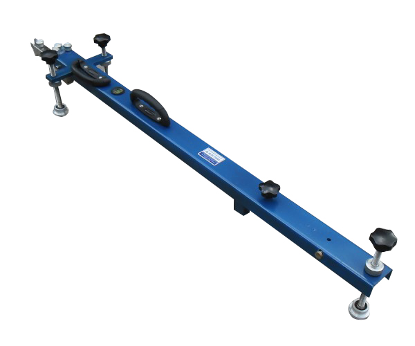The Benkelman Beam Apparatus is designed to determine the deflection of a flexible pavement or road surface under moving wheel loads.