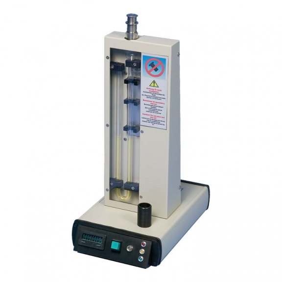 The Automatic Blaine Apparatus provides more accuracy and precision than provided by the manual Blaine apparatus.