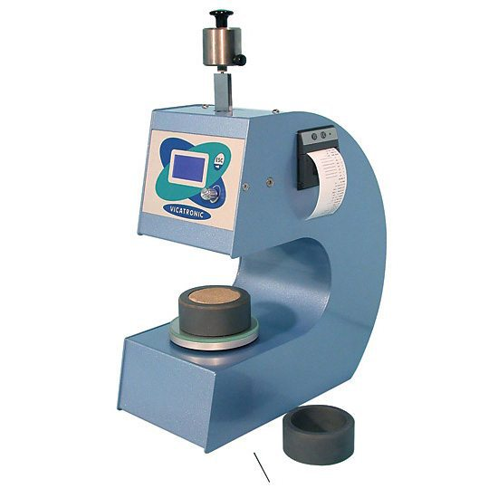 The Automatic Vicat apparatus, is used to determine the setting time and consistency of the cement mortar by using vicat method.