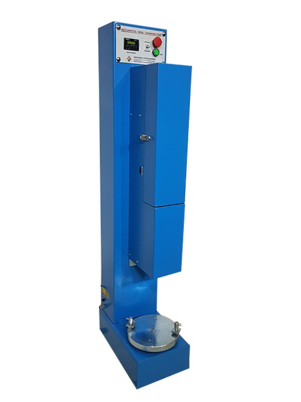 Automatic Soil Compactor is designed to compact specimens automatically and uniformly, assuring conformity with the above listed international standards.