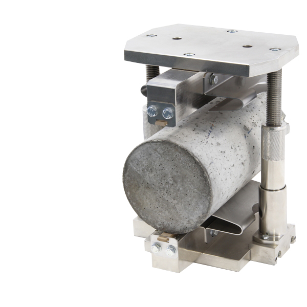 Splitting Tensile Test Devices are accessories for compression machines for measuring the splitting tensile strengths