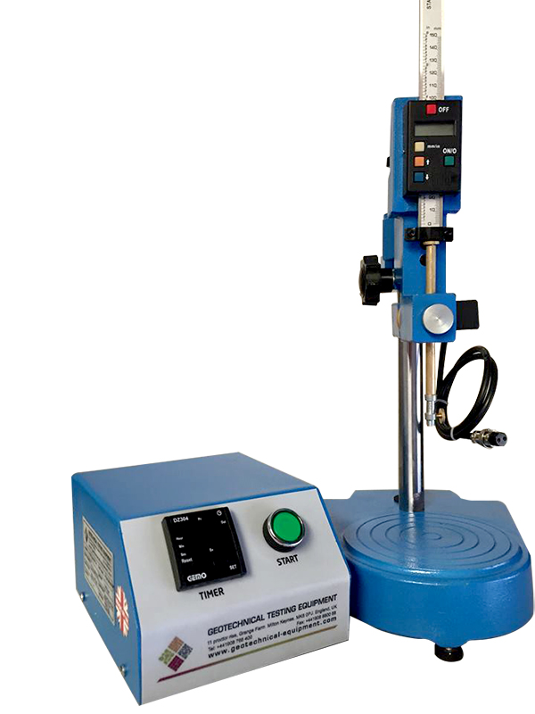The Semi Automatic Bitumen Penetrometer is used to determine the penetration of bituminous samples under constant load, time and heat.
