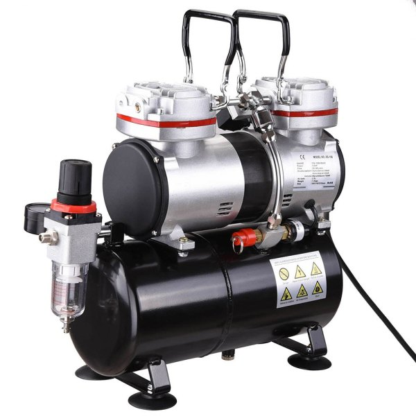 The Air Compressor is easy to use and to control the air manipulation.