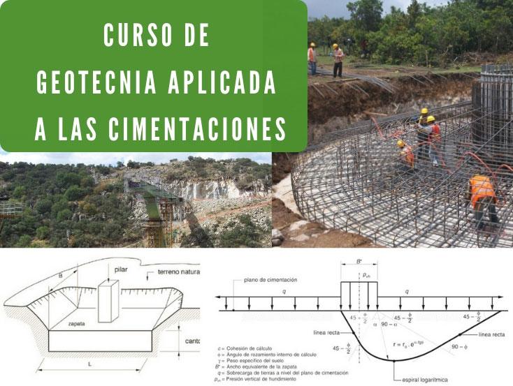 Curso geotecnia cimentaciones