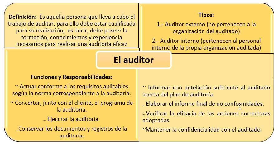 Auditor gestión ambiental