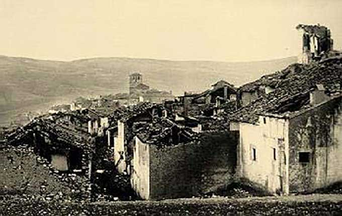 TERREMOTO DE ARENAS DEL REY DE 1884