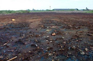 suelo contaminado