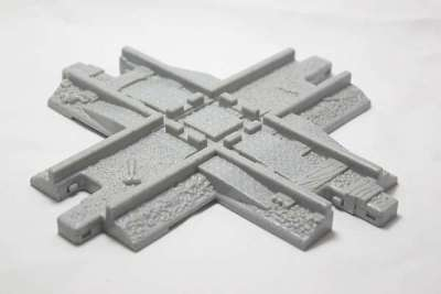 Cross Track - Wide Guides