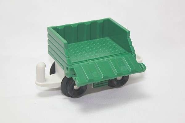 B4343 Freightway Transport Green Cargo car open