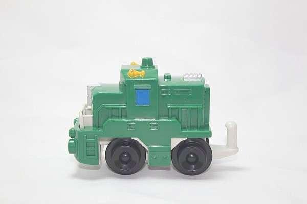 B4343 Freightway Transport Green Engine