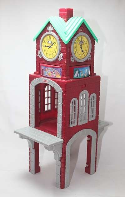 C5218 High Chimes Clock Tower - the other two sides