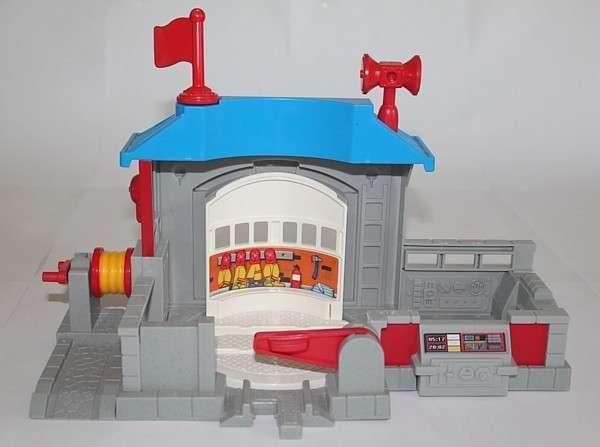 Fire Station back side