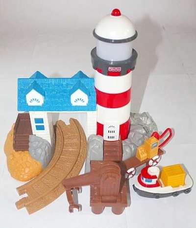 G4881 Harbor Docks Lighthouse set