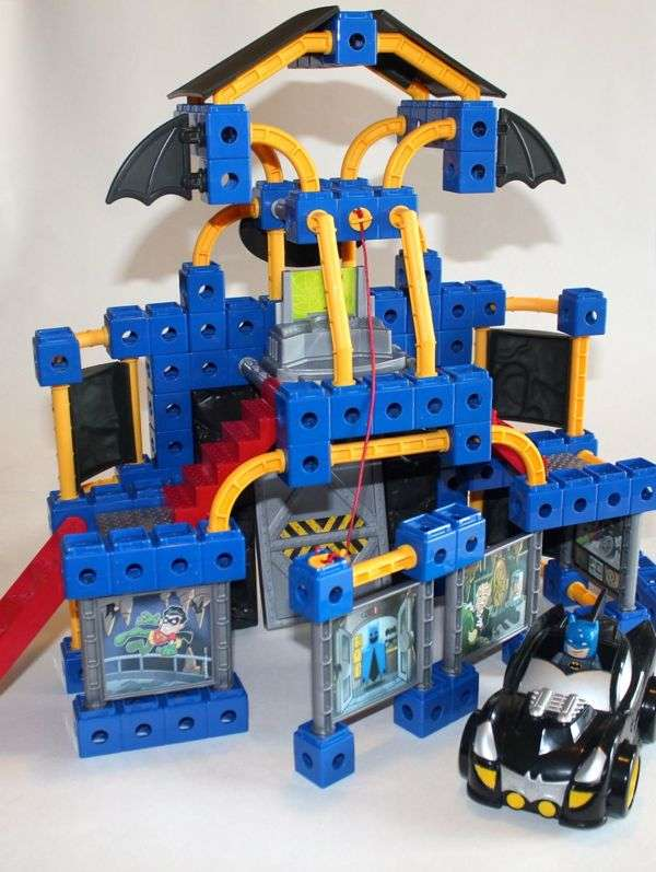 Batcave and Batmobile