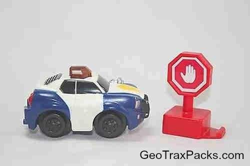 K0402 Flashin' Fast Police Car