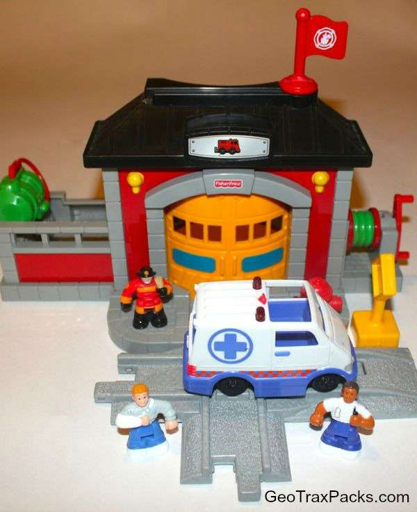 N8343 Fire Rescue Station