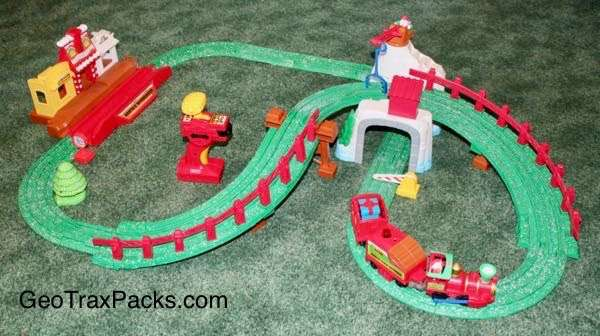 V0420 - Christmas Railway set