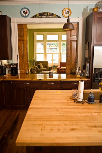 Project Spotlight: Church Hill historic home – authentic custom kitchen