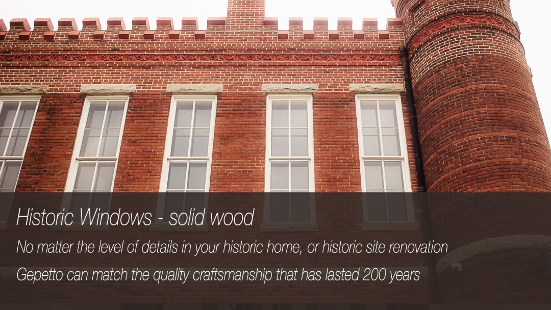 Historic Window Renovation Services