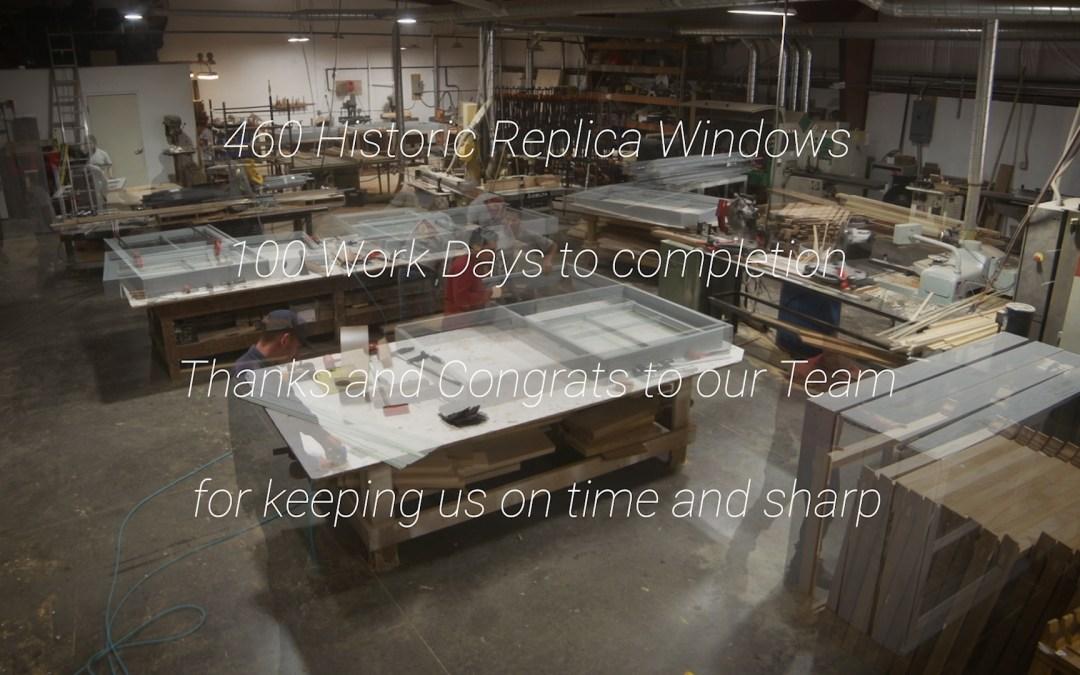 Historic Renovation   Replica Wooden Windows