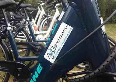 Logo vélo GERALD SERVICES