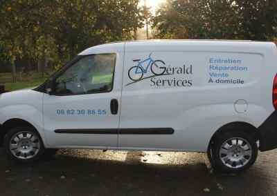 Vehicule GERALD SERVICES