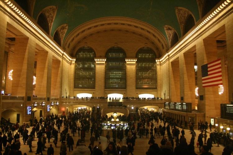 Grand Central Station en compagnie de notre Greeter