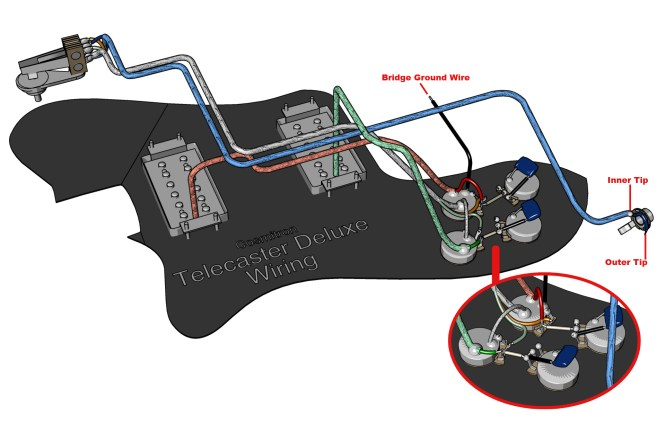 fender telecaster wiring diagram humbucker wiring diagram three cool alternate wiring schemes for telecaster seymour duncan