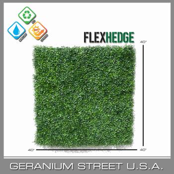 artificial boxwood hedge mat