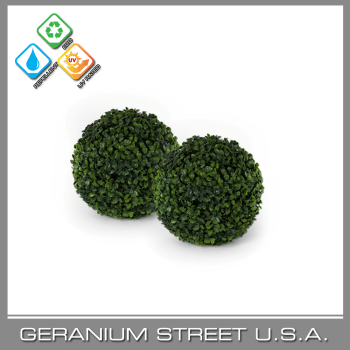 artificial boxwood hedge ball