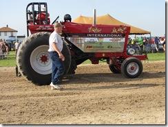 International Pulling tractor