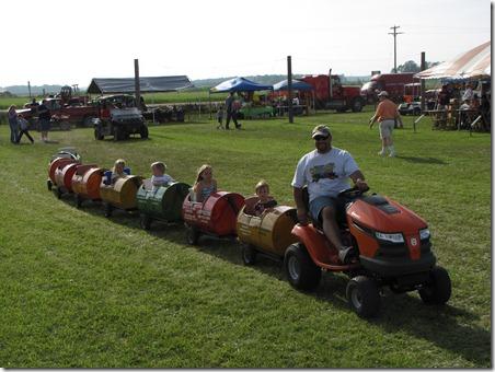 Gera Old Tractor Barrel Ride