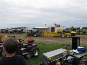 Mid Michigan Mini Tractor Pullers at 2009 Gera Days