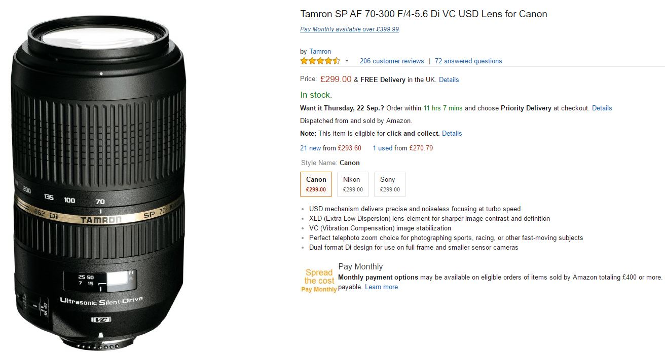 Camera Lens Features Explained