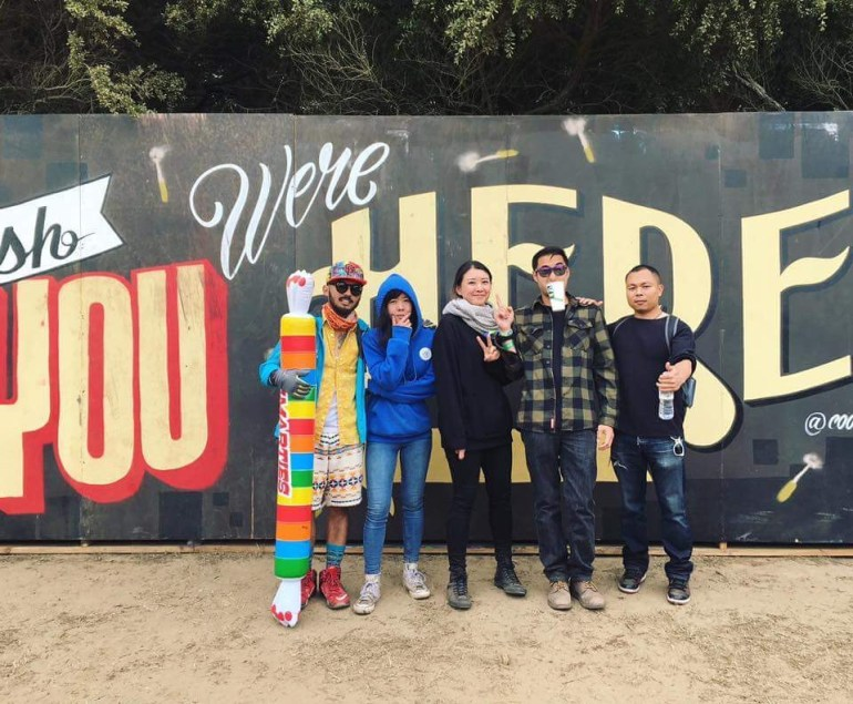 Outside Lands Sunday Crew pic