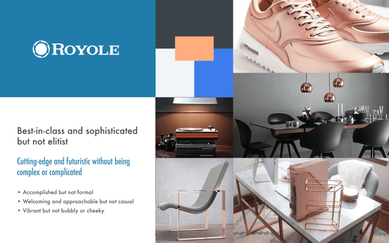 Royole Moon mood board