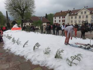 Jean-Michel & Déborah mariage neige (2)