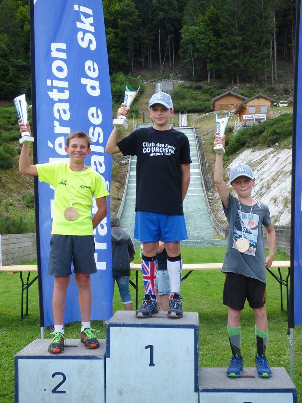 podium U13