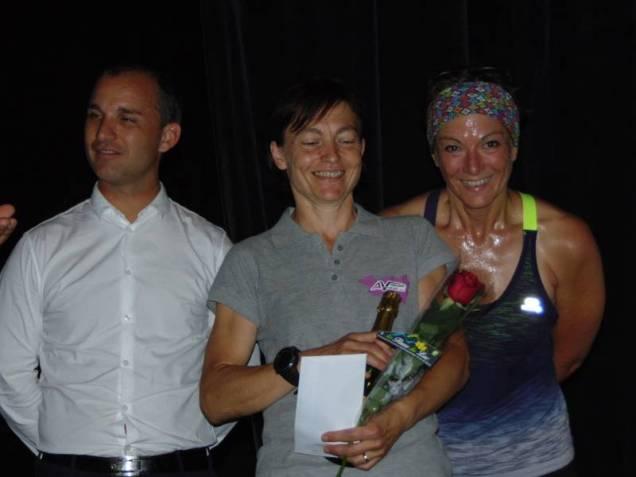 Raphaelle Maechen de Basse-Sur-Le Rupt, vainqueur du 56 km en catégorie V2