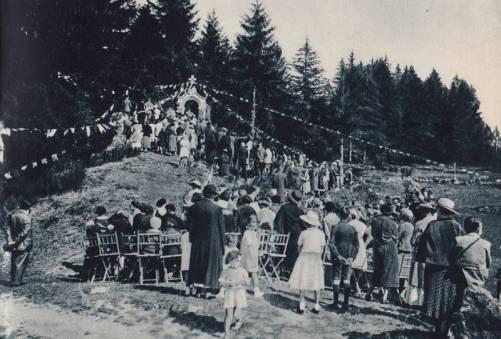 1ère pierre en 1944
