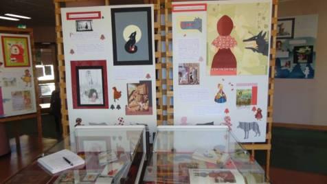 expo mediathèque chaperon rouge (5)
