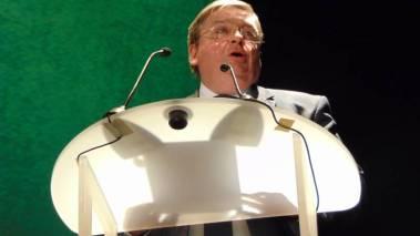 François Vannson, président du Conseil Départemental des Vosges.